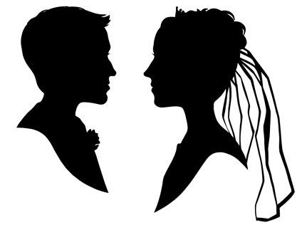 211 best Silhouette images on Pinterest
