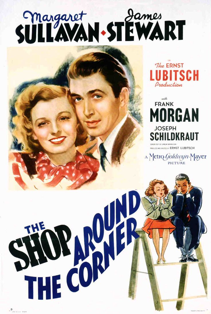 American one-sheet movie poster for The Shop Around the Corner (1940).