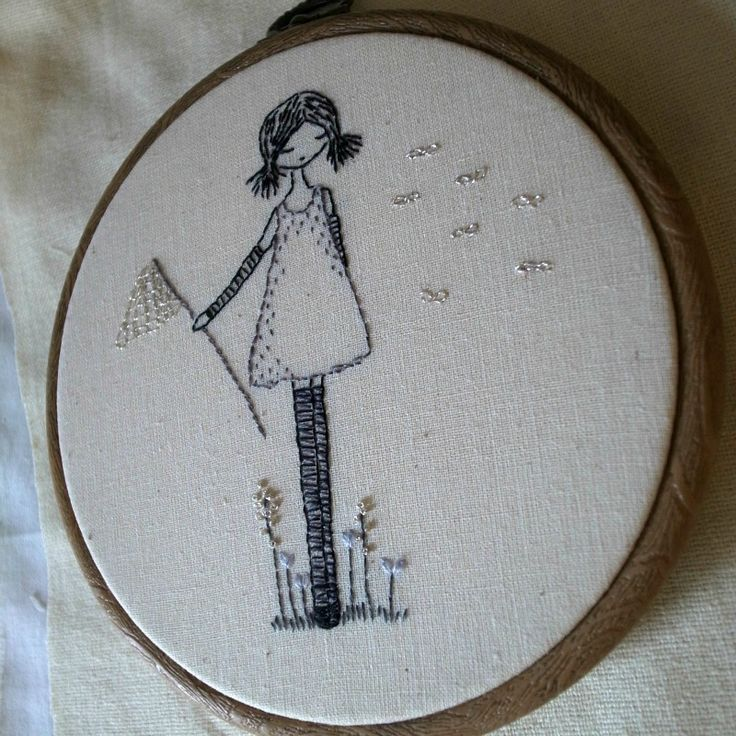 Wishes embroidery