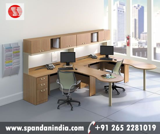 Modular Officefurniture Offered By Spandan Enterprises Pvt Ltd Promotes Productivity And Infuses Your Office
