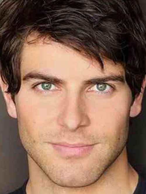 Great haircut for my son Evan -  with thick, dark, wavy hair like this and such similar eyebrows, too!     (David Giuntol  from Grimm)