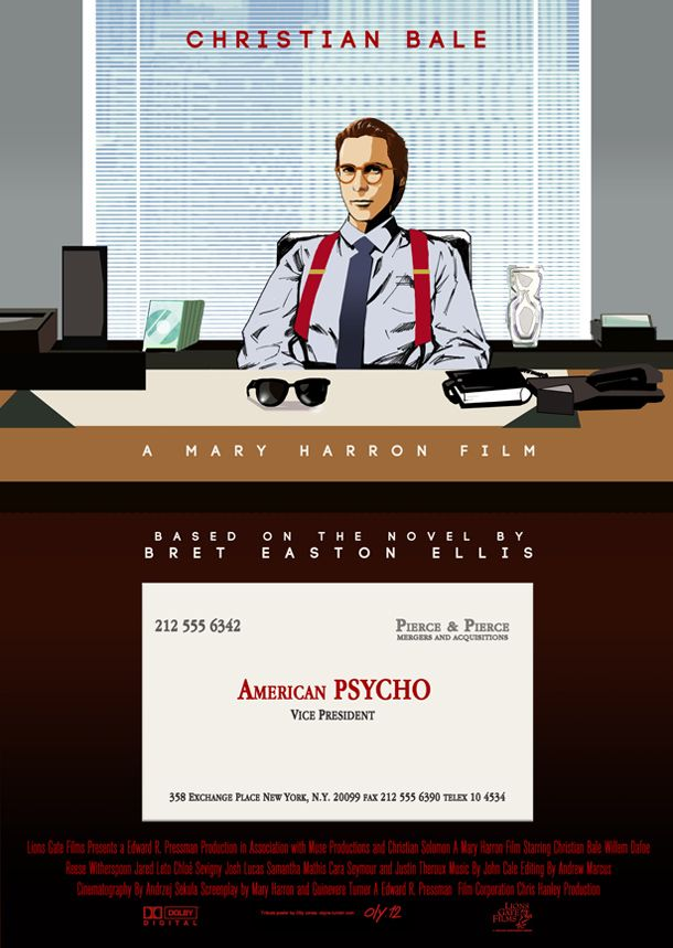 American Psycho - movie poster