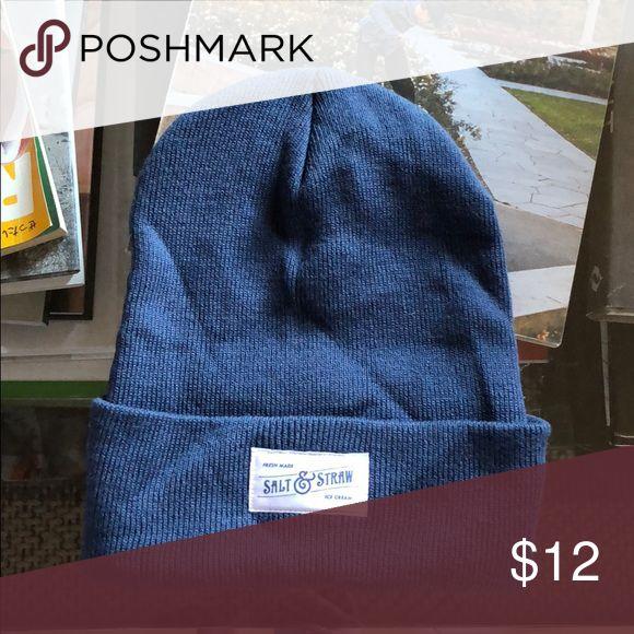 Salt and straw beanie 🍦 never worn New! Accessories Hats