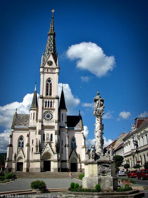 Church of Jesus' Heart (Jézus Szíve-plébániatemplom) in Kőszeg. Hungary