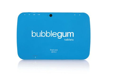 "Bubblegum Kids Tablet 7"" Wifi Blue Get it at www.intellibox.co.za #learningtool #Android #Greatgift #Getit #Allkidsloveit"