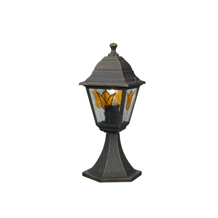Koblenz Post (Black), Outdoor Lights, Gloco - & Home Lighting
