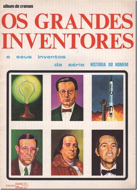 Santa Nostalgia: Clube do Cromo – Os Grandes Inventores
