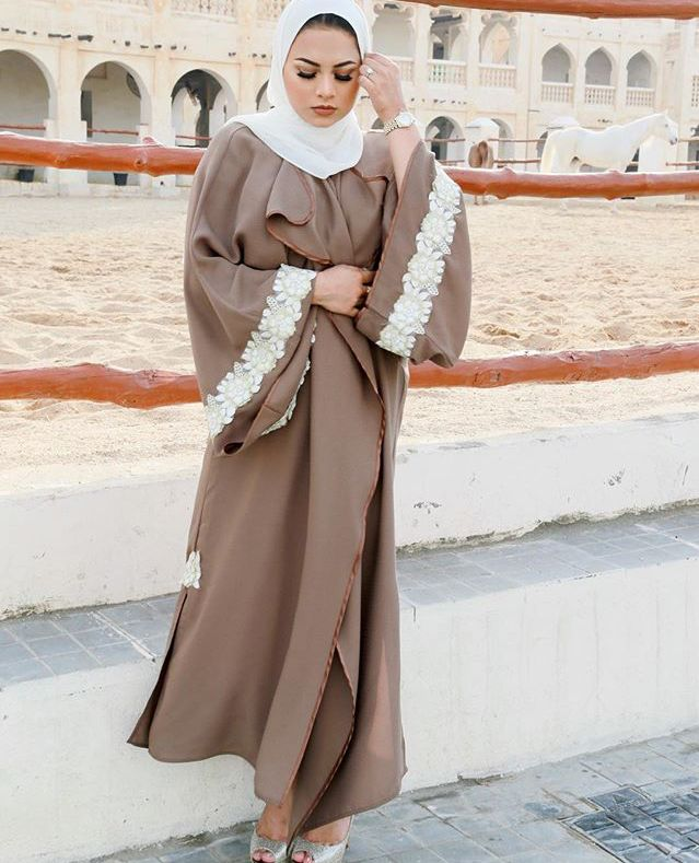 is this the emirati abaya? lol high quality and stylish emirati abayas are so expensive, buying one means forgoing 3 averaged-quality and simpler abayas.