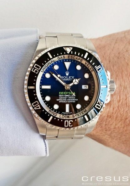 Montre ROLEX Sea-Dweller d'occasion : Ref 116660. - Cresus