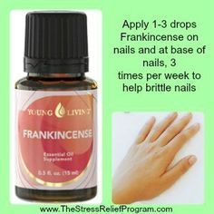 Frankincense essential oil for nails #diybeauty #nails