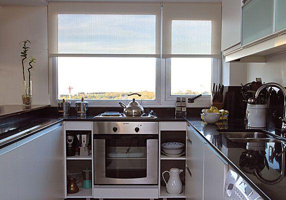 Minimalista la cocina en cambio se dise en blanco - Diseno de cortinas ...