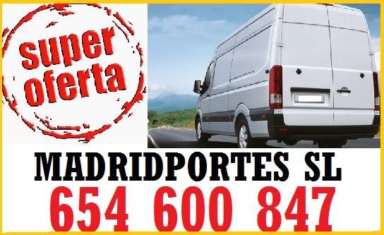 RAPIDES Y CUIDADO GARANTIZAD0!91X3689X819 PORTES EN RIVAS-LEGAZPI-SANCHINARRO MP>> 65X46OO8•47 ANUNCIOS TRASLADOS ECONOMICOS GARANTIZADOS**MADRIDPORTES,EMPRESA ECONOMICA EN ESTA ÁREA DE MUDANZAS Y PORTES CON TARJETA DE TRANSPORTE, MATERIAL DE CALIDAD, MOZOS EXPERTOS DEL DESM/MONTAJE DE MOBILIARIOS, ETC. TRANSPORTES BARATOS EN EL SECTOR::: MADRID/LAS ROZAS Y ALREDEDORES: GETAFE, RETIRO, USERA, MAJADAHONDA, BARRIO DEL PILAR, MORATALAZ, ETC.PRECIOS CON DESCUENTOS:: DESDE 30EUROS PORTES EN…