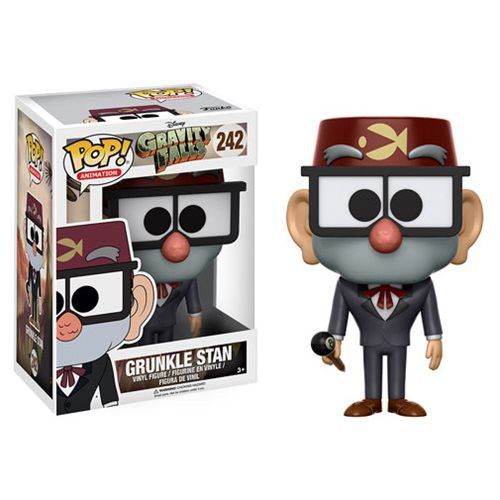 [Preorder] Gravity Falls Pop! Vinyl Figure Grunkle Stan Estimated Release Date: June 2017 *ATTENTION* Pre-Orders do not ship until ALL items in your order are in stock. Please place separate orders by