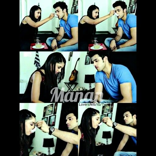Our cute manan feeding each other