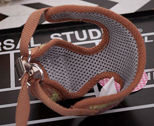 MaxadeTM Cute Small Dog Puppy Chihuahua Harness and Walking Leash Leads Set Pink Blue Brown 3 Sizes XS M XL >>> Be sure to check out this awesome product.Note:It is affiliate link to Amazon.