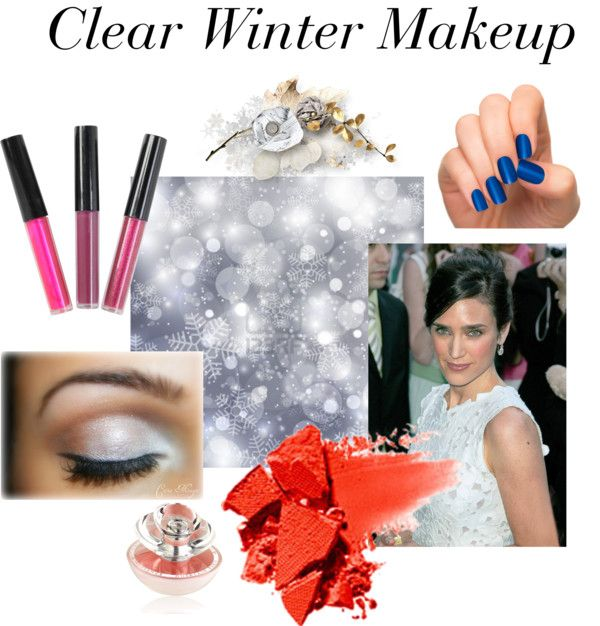 Clear Winter Makeup