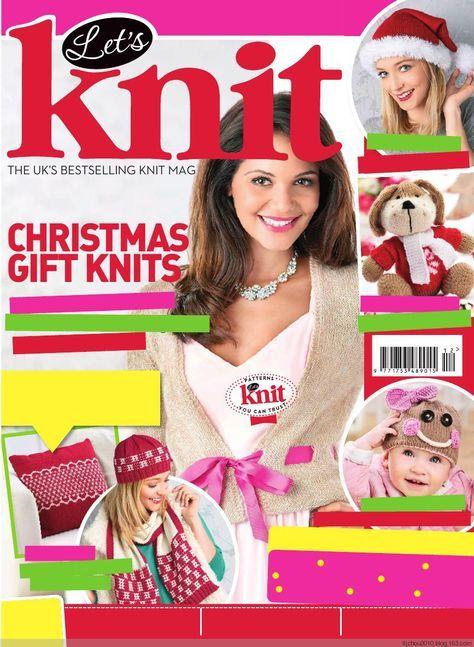 Lets Knit – December 2014 - 紫苏 - 紫苏的博客