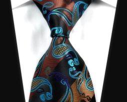 Luxusná spoločenská kravata s krásnym motívom http://www.luxusne-doplnky.eu