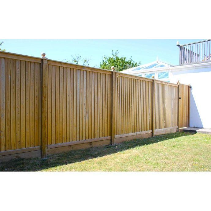 Flat Top Tongue And Groove Fence Panels Fence Panels Timber Fence Panels Fence Design