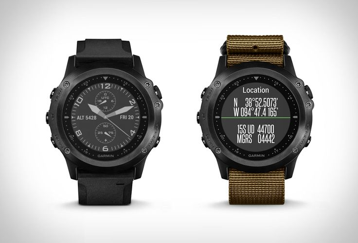 Garmin have recently introduced the Tactix Bravo, a rugged GPS sport watch for tactical training and outdoor navigation with fitness training and smart features. Description from blog.360dgrs.nl. I searched for this on bing.com/images