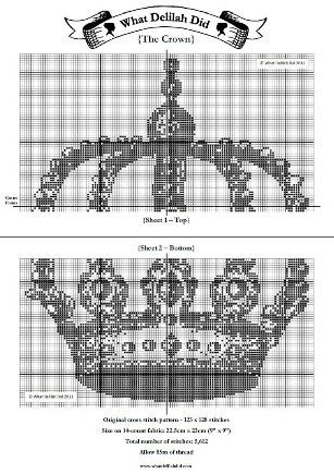 The Crown PDF Pattern | What Delilah Did