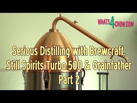 Serious Distilling with Brewcraft, Still Spirits and Grainfather - Part ...