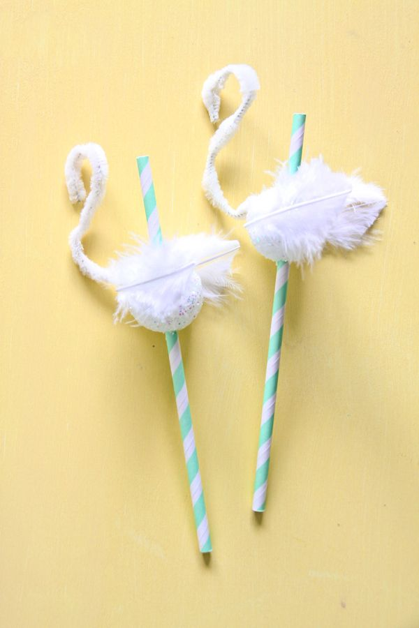 Your party seriously  needssome swan straws. What's a party without  'em?! Ever since theselittle gals were born, I have had m...