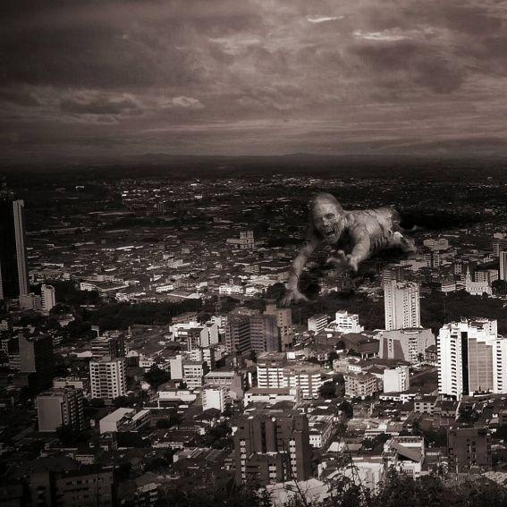 Citizens #zombie #city #thewalkingdead #surrealism #dead