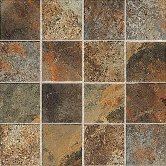 Kendal slate glazed porcelain tile american olean for Mohawk flooring distributors