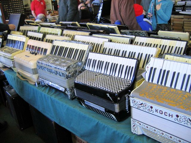 Accordions for sale!