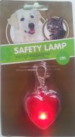 Heart LED ID Safety Lamp - keep your Cat or Dog visible at night! - includes sameday send, FREE 1st Class Delivery plus 28 day peace of mind Returns Policy on all discount #Pet Supplies ( #Cat #Dog #Fish Items) at http://cutpricepetproducts.co.uk