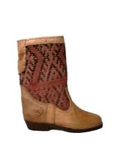 Sahara boots with rose kilim