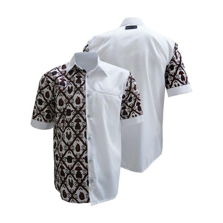 Kemeja Neale HM-1946  #kemejabatikmedogh  http://medogh.com/baju-batik-pria/Kemeja-Batik-Patriot-Series-Kemeja-Neale-HM-1946