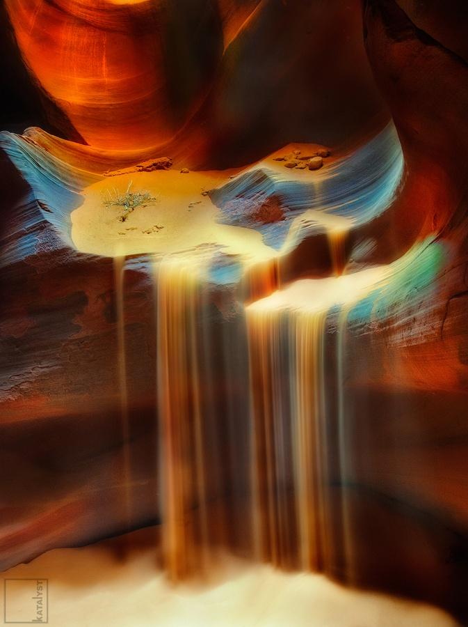 Liquid Sand by The Katalyst (Antelope Canyon, Arizona)