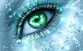 Green light eye