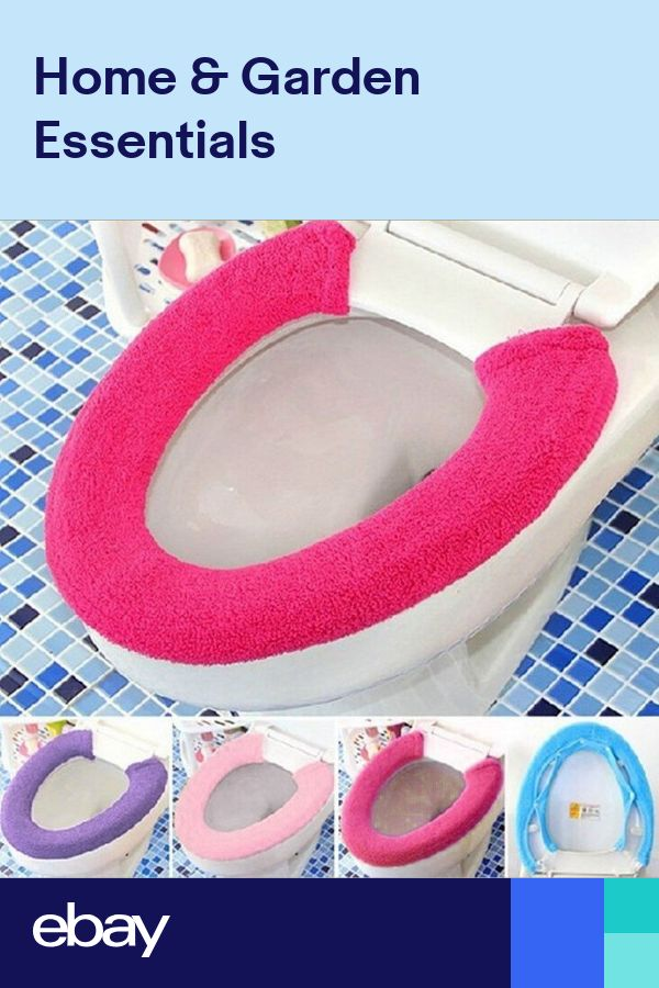 Fibers Bathroom Protector Warmer Closestool Accessories Toilet Seat Cover