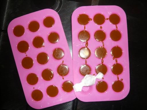 Caramels mous au beurre salé - Recette de cuisine Marmiton : une recette