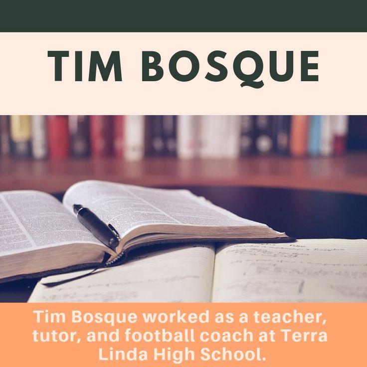 Meet Tim Bosque A Recently Retired Teacher With a Long