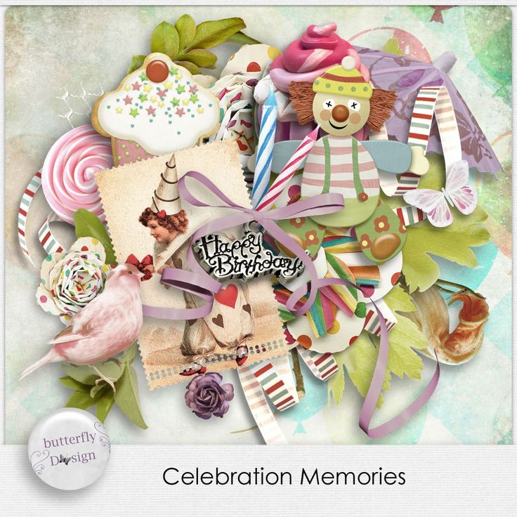 Digital Art :: Kits :: Celebration Memories by butterflyDsign