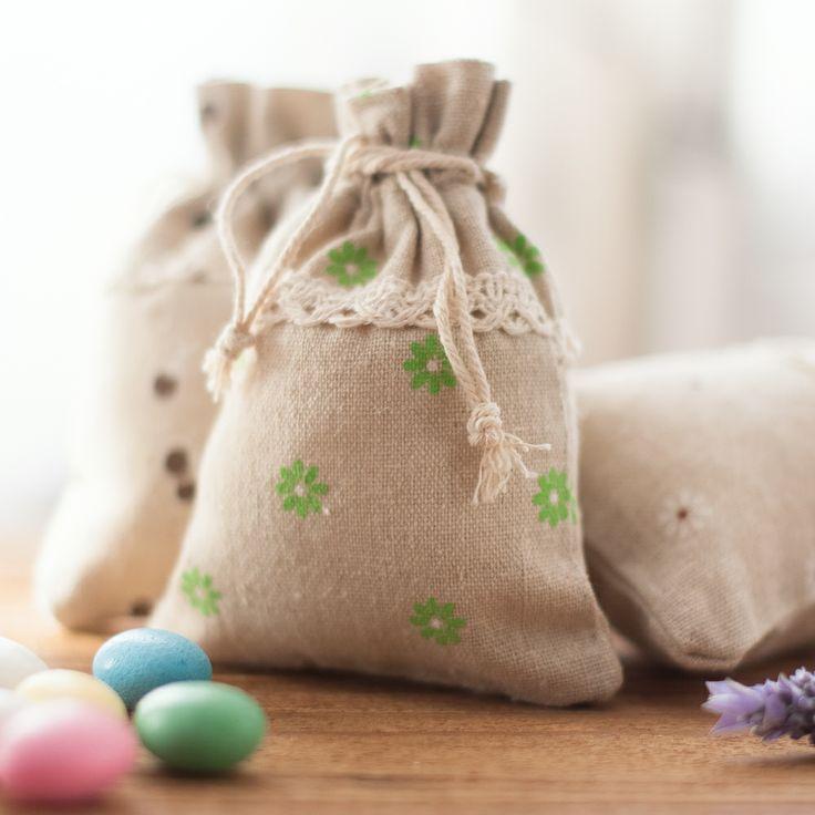 17 mejores ideas sobre bolsitas de yute en pinterest - Bolsitas de tela de saco ...
