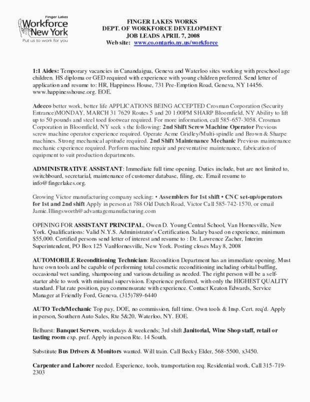 31 Mechanic Job Description Resume Cover Letter Templates