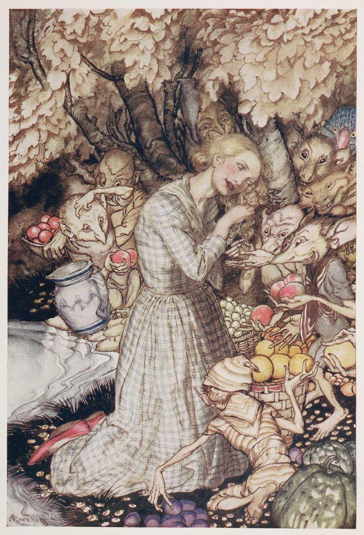 Goblin Market By Christina Rossetti  Illustrated By Arthur Rackham  1933   British Library