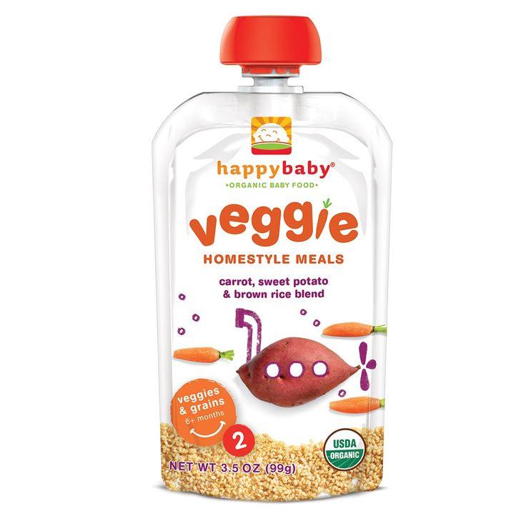 Happy Baby Pouches es una linea completa para bebes y niños que no requiere refrigeración y son convenientes para llevar a cualquier lugar. Es una excelente opción para comenzar a explorar los primeros alimentos del bebé. Su presentación es el tamaño adecuado para esos primeros alimentos y los sabores son con los que los bebes comienzan a explorar. Los Pouches de Happy Baby NO contienen GMOs (Organismos Genéticamente Modificados), Son orgánicos y naturales.  Contienen ingredientes que se…