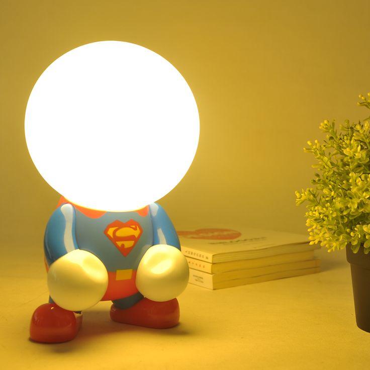 Goedkope LED Superman batman Nachtverlichting Kerstmis Luminaria decoratie binnenverlichting geschenken voor Kinderen Kinderen Slaapkamer Bureau tafellampen, koop Kwaliteit tafellampen rechtstreeks van Leveranciers van China:  Misschien heb je interesse in deze producten ook, klik om te kopen!!Luminarias LED crystal cherry blossom tree La