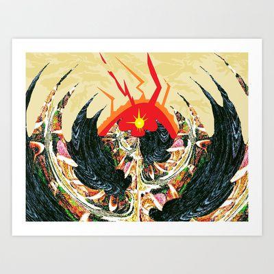 Dragon  Art Print by Shane R. Murphy - $19.00