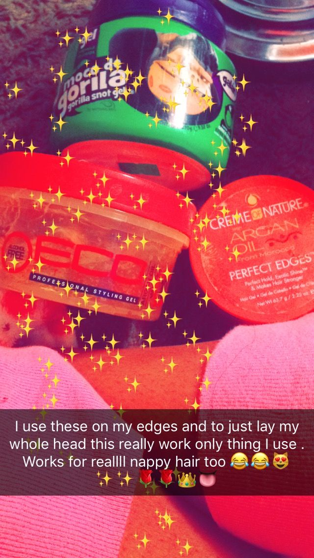 What I use to lay them edges ✨✨✨✨✨ . @My snap is @realbish147 Ms. Indiaa Key