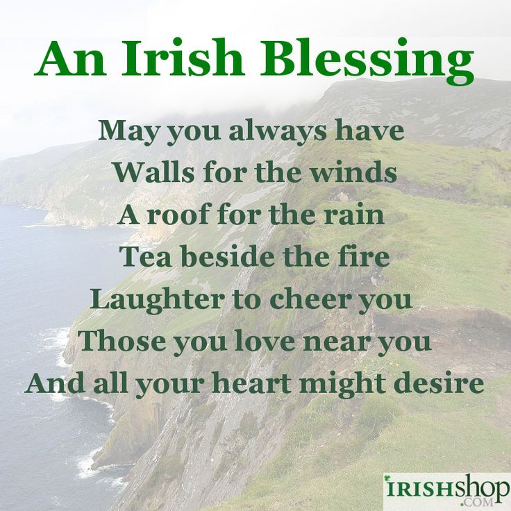 Irish Wedding Quotes: 86 Best Images About Irish Blessings On Pinterest