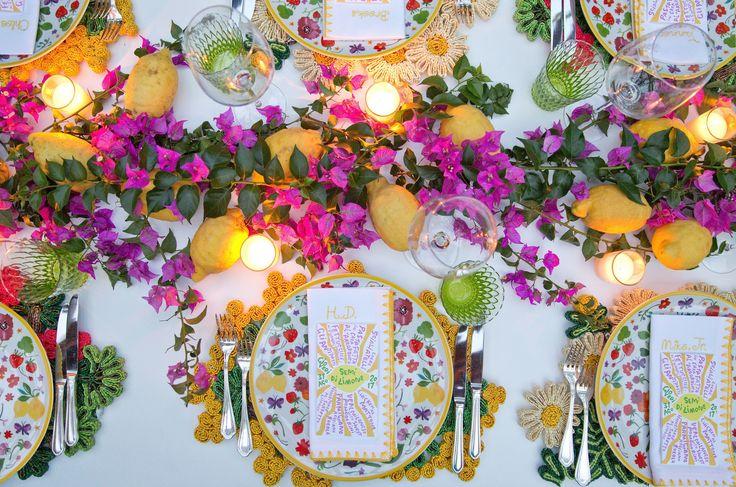 Bumble Founder Whitney Wolfe and Michael Herd's Wedding in Positano #SugokuiiEvents #PositanoWedding #Capri