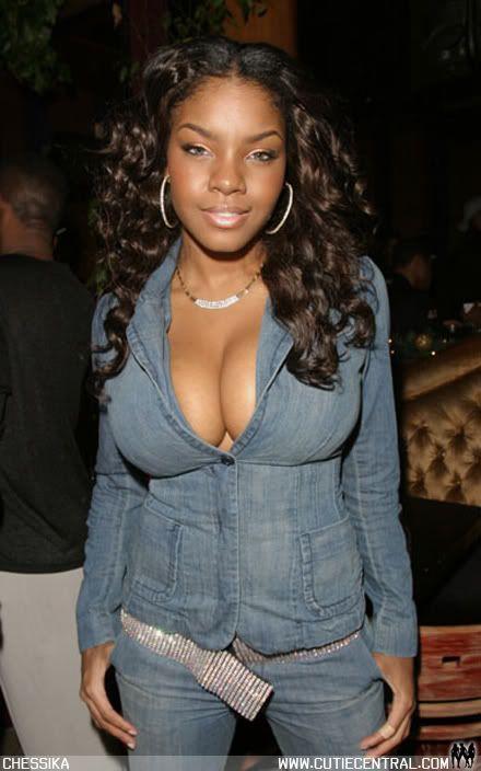 Slim busty black women
