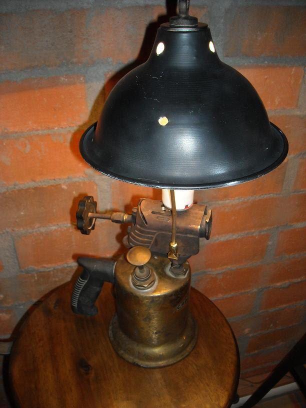 Vintage Craftsmen Blow Torch Lamp Torches And Craftsman